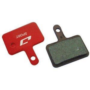Тормозные колодки Jagwire Sport Semi-Metallic Disc Brake Pad Shimano Deore [25], BWD2001Тормоза на велосипед<br>Высококачественные металлизированные колодки на стальной основе, обеспечивающие эффективное и почти бесшумное торможение. Совместимы с тормозами Shimano Deore.<br><br>Deore M515, M515M, M515-LA,<br><br>M525, M515-LA-M, M415, M465,<br><br>M475, M485, M495, M395, CX75,<br><br>C501, C601<br>
