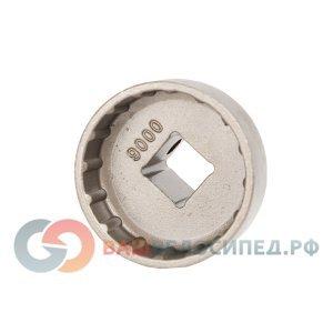 Съемник каретки  BIKEHAND YC-32BB SHIMANO BB9000 серебристый, 6-150032 инструмент shimano tl un96 a съемник каретки для fcm952 m951 m950 m750 y13009072