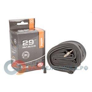 Камера 8-37229202 29 спорт 1,95-2,35 (50/58-622) (50) AUTHORКамеры для велосипеда<br>NEW, 29х1.95-2.35, 47/60-622/630, ниппель спорт,  высокоэластичная бутиловая резина, инд. уп.<br>