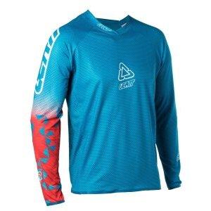 Велоджерси Leatt DBX 4.0 UltraWeld Jersey FuelВелоджерси<br>Велосипедная трикотажная футболка DBX 4.0 изготовлена из ультралегкой, растянутой сетчатой ткани, которая защищает от  влаги и имеет воздушные каналы. Его гоночная растяжка идеально подходит для ношения.<br><br>Сверхлегкая, растягивающая сетчатая сетка MoistureCool с воздушными каналами<br>Укрепление / щетки на локтях<br>Сварные швы на манжете и подол для максимального комфорта<br>Дизайн воротника для использования с шейкой или без нее<br>Гоночный стрейч подходит для езды с или без брони<br><br>Застежка-молния с микроволокном<br>