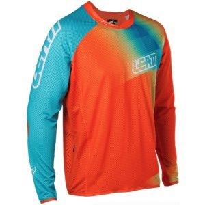Велоджерси Leatt DBX 4.0 UltraWeld Jersey Orange/Teal