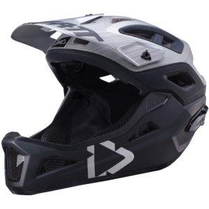 Велошлем Leatt DBX 3.0 Enduro Helmet, серый 2018Велошлемы<br>Наконец, существует решение, которое минимизирует риск повреждения головы и головного мозга, а именно, чтобы получить лучший шлем, который вы можете найти, что уменьшает как вращение, так и энергию удара в голову и мозг.<br><br>Поликарбонатная оболочка трех размеров<br>360° Turbine Technology <br>Снижает до 30% удара головы на уровне сотрясения<br><br>3D-формованная ударная пена для большего поглощения энергии<br>Максимальная вентиляция:<br>23  вентиляционных отверстий эффективны даже при очень низких скоростях<br>Воздушные каналы MaxiFlow в ударной пене. Эффективен с любой скоростью<br>Козырек с функцией отрыва при аварии<br>Dri-Lex® влажный, дышащий, анти-запах и моющийся внутренний вкладыш<br>Сертифицировано и проверено по EN1078, CPSC 1203<br>Вес: От 300 г (0,65 фунта)<br>
