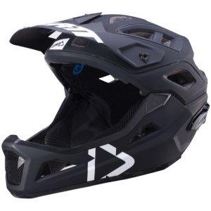 Велошлем Leatt DBX 3.0 Enduro Helmet, черно-белый 2018Велошлемы<br>Наконец, существует решение, которое минимизирует риск повреждения головы и головного мозга, а именно, чтобы получить лучший шлем, который вы можете найти, что уменьшает как вращение, так и энергию удара в голову и мозг.<br><br>Поликарбонатная оболочка трех размеров<br>360° Turbine Technology <br>Снижает до 30% удара головы на уровне сотрясения<br><br>3D-формованная ударная пена для большего поглощения энергии<br>Максимальная вентиляция:<br>23  вентиляционных отверстий эффективны даже при очень низких скоростях<br>Воздушные каналы MaxiFlow в ударной пене. Эффективен с любой скоростью<br>Козырек с функцией отрыва при аварии<br>Dri-Lex® влажный, дышащий, анти-запах и моющийся внутренний вкладыш<br>Сертифицировано и проверено по EN1078, CPSC 1203<br>Вес: От 300 г (0,65 фунта)<br>