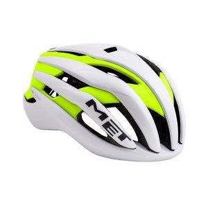 Велошлем Met Trenta, бело-желтый 2018Велошлемы<br>Новый шоссейный шлем от Met, созданный для профессионального использования. Стандартная модель Trenta весит чуть больше, чем версия 3k Carbon, но в остальном, это всё тот же высококачественный аэродинамичный шлем, позволяющий снизить сопротивление воздуха во время езды на 7%. Пенопластовый внутренник интегрирован в корпус из высокопрочного поликарбоната, что обеспечивает шлему компактность и низкий вес при хороших защитных свойствах. И, разумеется, данный шлем сертифицирован и отвечает всем требованиям стандарта безопасности CE.<br><br><br><br>ОСОБЕННОСТИ<br><br><br><br>Новый шоссейный шлем от Met, созданный для профессионального использования<br><br>Пенопластовый внутренник шлем интегрирован в корпус из высокопрочного поликарбоната<br><br>Удобная система застёжек Safe-T Orbital<br><br>Аэродинамичный профиль<br><br>Отвечает требованиям стандарта безопасности CE<br>