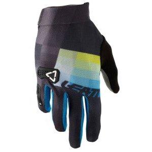 Велоперчатки Leatt DBX 2.0 X-Flow Glove, черно-синий 2018Велоперчатки<br>Эти вентилируемые велосипедные перчатки с мягкими ладонями тонкие, но прочные! Одни из наших первых непромокаемых защитных перчаток.<br><br>Один из самых легких и минималистических велосипедных перчаток в нашей линейке продуктов, верхняя часть перчаток  2.0 X-Flow изготовлена из полностью вентилируемого, растягиваемого материала. <br>Они супер удобны благодаря эластичной подгонке, удобной манжетой и предварительно изогнутой, бесшовной ладонью. <br><br>Microinjected 3D Brush Guard усилен мизинец и суставы<br>MicronGrip Palm<br><br><br>Очень прочные с функцией сенсорного экрана<br>Печать силиконового захвата<br>Полностью вентилируемая сетка X-Flow<br>Предварительно изогнутая, плотная подгонка и бесшовная ладонь<br>Стержень объектива / пота<br>Натяжная манжета<br>Многослойная, нейлоновая нить<br>