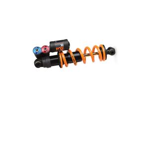 Амортизатор FOX DHX2 F-S TiN 222 x 69,8 ммЗадние амортизаторы на велосипед<br>Вес389 гртип ванныОткрытая масляная ваннаРегулировки внешниеВысокоскоростной и низкоскоростной отскок, высокоскоростная и низкоскоростная компрессия, регулировка жесткости.регулировки внутренниеНеттип пружиныSLS или стандартная стальная пружина (В комплект не входит)демпферDHX2ход70 ммдлина222 ммДополнительно:НастройкиREBOUND - ОТСКОКУправление регулировками отскока позволяет контролировать скорость отбоя после сжатия амортизатора.Регулировка скорости отскока красного цвета (REBOUND) зависит от уровня жесткости пружины. Например, более жесткая пружина требует более сильного уменьшения скорости отскока.Регулировка высокой скорости отскока (High-speed Rebound - HSR) необходима, для настройки системы, чтобы она смогла быстро стабилизировать колесо во время сильных ударов, прыжков и жестких приземлений и подготовить амортизатор к дальнейшей обработке ударов. При помощи шестигранного ключа 6 мм вращайте регулировку по часовой стрелке (IN) замедляя высокоскоростной отскок, вращая ключ против часовой стрелки (OUT) ускоряя высокоскоростной отскок.Регулировка низкоскоростного отскока (Low-speed Rebound - LCR) необходима для контроля производительности амортизатора во время торможения ударов, технических подъемов, для уверенного прохождения поворотов, когда необходима дополнительная тяга. Используя шестигранный ключ 3мм вращайте регулировку находящуюся в центре по часовой стрелке (IN) чтобы замедлить низкоскоростной отскок, вращайте ключ против часовой (OUT) чтобы ускорить низкоскоростной отскок.ВНИМАНИЕ!!! Регулировка низкоскоростного и высокоскоростного отскока деликатная процедура! Никогда не оставляйте регулировку в крайнем затянутом ли крайнем открученном положении во избежание заклинивания системы. Вращайте регулировку без усилий.Для правильной настройки поверните регулировки с самую быструю скорость и начните настройку скорости отскока постепенно, проверяя изменение скорости при каждом оборот