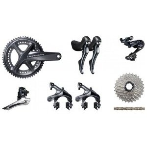 Группа Shimano ULTEGRA 8000 Disc 172x52-36 nos shimano xtr front derailleur fd m961 dual pull bottom swing 34 9 new in box