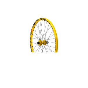 Колесо зад. MTB Mavic MTB Deemax Ultimate15 12x150mmКолеса для велосипеда<br>Самое легкое и отзывчивое колесо для даунхилла из всех доступных. Разработанное совместно со спортсменами-участниками кубка мира, это первый комплект колес, созданный специально для даунхилла, весом менее 2 кг. Невероятно легкие обода и спицы с плоским профилем и двойным баттингом обеспечивают идеальный контроль и предельные скорости на пути к финишной черте.Вес (колесная пара): 1965 граммовПереднее колесо: 910 граммовТехнологии, примененные в конструкции комплекта колес Mavic Deemax Ultimate UST:ISM: Выточка специальных углублений между спицами для облегчения обода при равной жесткости – вот волшебная формула снижения инерции и высвобождения дополнительной энергии при подъеме в гору. Эксклюзивная запатентованная концепция Mavic (US 6 402 256).UST: Универсальный стандарт бескамерных покрышек. Коэффициент сцепления с дорогой и управляемость; Бескамерная система, готовая к использованию. Концепция UST позволяет увеличить коэффициент сцепления с дорогой, повысить управляемость и комфорт, снижая инерцию и вероятность прокола. - Без камер, без ободных лент; полностью герметизированный обод для удобного управления – возможна езда при пониженном давлении в покрышках – профиль обода UST имеет специальные выступы для надежного закрепления покрышки – совместим со всеми типами покрышек (UST, Tubeless Ready, камерные).ITS-4: система мнгновенной передачи ITS-4 4 лапки в барабане, работающие попарно, обеспечивают большую динамику при езде за счет очень быстрого переключения. Универсальность этого колеса делает его совместимым со всеми системами стабилизации рамы. - Улучшенная передача усилия: быстрое переключение, только 7,5° свободного хода между положениями – Жестче: цельная ось, диам. 17мм – 12мм, совместимая со всеми системами стабилизации рамы.Технология QRM: Qualitй de Roulements Mavic . Наиболее ответственный уровень нашего производственного процесса. Разумеется, эти картриджные подшипники снабжен