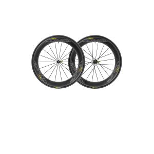 Колеса Mavic COMETE Pro Carbone SL UST M-2518 параКолеса для велосипеда<br>ОписаниеКолеса Mavic COMETE Pro Carbone SL UST CL M-2518 параПрименениеШоссе, триатлон.Новинка 2018 года! Высокопроизводительные колёса Mavic Comete созданы по самым передовым технологиям для неоспоримого преимущества в гонках - минимальное сопротивление качению и встречному потоку воздуха за счёт аэродинамического профиля глубиной 64 мм, форма которого является результатом исследований с применением технологий NACA.Крепление переднего колеса конвертируется между 12-, 15-мм осями и эксцентриком. Задняявтулка под ось 12x142 мм также с помощью адаптеров может быть использована с эксцентриком.Технические характеристикиСОВМЕСТИМОСТЬПередняя втулка только Quick ReleaseЗадняя втулкатолько Quick ReleaseБарабан: Shimano / Sram. Доступна замена фрихаба на Campagnolo и XD-R (в комплект не входит)ВЕСПокрышка 700x25: 260 гПара (без покрышек): 1635 гПереднее колесо (без покрышки): 740 гЗаднее колесо (без покрышки): 895 гВТУЛКИПодшипники: промышленные с автоматической регулировкой QRM AutoБарабан: Instant Drive 360Материал корпуса: алюминийМатериал оси: алюминийМаксимальный общий вес: 120 кгДавление:25 мм 5 бар - 70 PSI /28 мм 5 бар -70 PSI; максимальное -25 мм 5 бар - 70 PSI /28 мм 5 бар -70 PSIРекомендуемые размеры шин: от 25 до 32 ммОБОДАРазмер ETRTO: 622x19TC RoadВысота: 64 ммМатериал: углеволокно 3KВнутренняя ширина: 19 ммДиаметр отверстия ниппеля: 6,5 ммШины: USTTubeless ReadyСПИЦЫФорма:плоскиеСпицовка: переднее колесо - 2 креста, заднее колесо - IsopulseКоличество спиц (спереди и сзади): 24Материал: ZicralПОКРЫШКИРазмер: 25-622 (700x25c)В комплектеYksion Pro USTUST Tubeless ReadyКомпаунд:однокомпонентный, полиамидКорпус: 127 TPIСтандарт крепления ротора: 6 болтов илиCenterLockЦвет: чёрныйТехнологииQRM+Mavic в своих колесах использует только высококачественные промподшипники, обеспечивающиедлительный срок службы и свободноевращение благодаря двойным сальникам и малому внутреннему люфту (стандарт C3 -