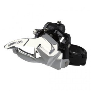Перекл. передн. Sram X.9 3х10V 34.9mm верх.хом. двойная тягаПереключатели скоростей на велосипед<br>Кол-во скоростей3х10Вес130 граммСовместимость передSRAM ( 3 ск)СовместимостьSRAM Exact Actuation (10 ск)Варианты хомутаDirectMount верхний, DirectMount нижний, верхний, нижнийДиаметр хомута34.9ЦветЧерный                                                Общие характеристики:    Артикул:00.7615.137.010            Категория:Переключатели<br>