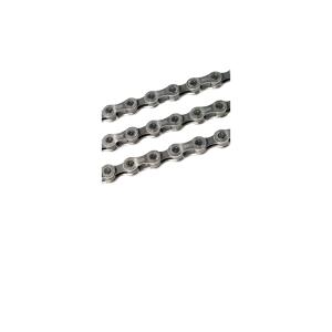 Цепь Shimano CN-HG 700 11V 116 звеньевВелосипедная цепь<br>Супер узкая легкая 11-скоростная HG-EV цепь с симметричным дизайном для гладкогопереключенияи максимальной долговечности.Технология обработки поверхности Sil-Tec (покрытие PTFE) на внутренних и внешних звеньев, которое обеспечиваетплавный ход и увеличивает срок службы.Внутренняя пластина была разработана для лучшего контакта с шестернями, обеспечивает более плавное переключение под высокой нагрузкой, обеспечивая эффективное педалирование, повышенную жесткость и практически бесшумное переключение.5.62 мм ширина цепи, оптимизированная для 11-скоростных супер узких HG-EV трансмиссий.Характеристики:Материал: нержавеющая стальКоличество звеньев: 116Тип: HG-X11Pin: SIL-TECРолик: SIL-TECВес: 257г                                                                                        Общие характеристики:                                            Артикул:CN-HG700                        Брэнды:Shimano                        Год:2016                        Категория:Цепи<br>