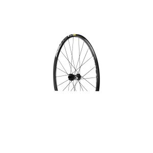 Колесо перед. MTB Mavic Crossride Disc 29Колеса для велосипеда<br>Только переднее колесо.Это дисковые колеса от Mavic начального уровня, которые отличаются большой надежностью и прочностью вне зависимости от поверхности. Ободья из сплава, стальные спицы, корпус втулок и эксцентрики из сплава - все это делает их универсальными колесами для MTB!vВес ( комплекта): 1900 гВес преднего колеса: 880 гТехнологии:FTS-X:  Усиленная версия механизма свободного хода FTS представляет собой улучшенную версию барабана FTX: более надёжные и прочные собачки, новая ось и новый сальник, уменшающий трение в 2 раза, делают механизм более надёжным и трудноизнашивающимся.Self Lock: Специальная форма спиц на том конце, где находится резьба, не даёт им раскручиваться. Спицы остаются плотно закрученными в ниппель и поэтому их натяжение не ослабляется. В результате колесо долго остается ровным.QRM Qualit? de Roulements Mavic - Mavic в своих колесах использует только высококачественные промподшипники. Такие подшипники обеспечивают длительный срок службы и легкое вращение благодаря двойному уплотнению и малому внутреннему люфту (стандарт C3 - малые зазоры и допуски).H2: это локальное укрепление обода в области крепления спиц, где скапливаются самые большие напряжения. Подобное укрепление увеличивает срок службы обода и премятствует его разрушению.Характеристики:Обода:Материал: 6106 алюминийЦвет: чёрный анодированныйОтверстия под спицы: традиционныеПистонирование: технология H2Диаметр отверстия под ниппель: :8.5 ммПокрышки: Обычные ( камерные)Внутрення ширина: 19 ммРазмер ETRTO: 559x19CРекомендуемый размер покрышек:от 1.5 до 2.3 дюймовТип тормоза: Диск IS (6 болтов) или CL (CentreLock) Спицы:Материал: стальТип:  вытянутые, профилированныеНиппеля:  латунные, самозажимающиеся.Количество: 24 на каждом колесеПлетение:  двойной крестВтулки: Материал:  алюминийМатериал оси:  стальQRMFTS-X сталь                                                Общие характеристики:    Артикул:32647910    Брэнды:Mavic     
