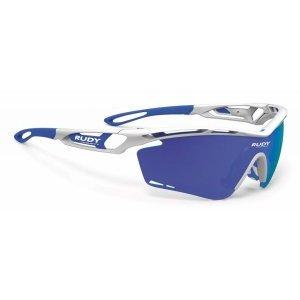 Очки Rudy Project TRALYX WHITE GLOSS - MLS BLUE