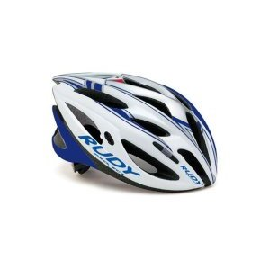 Велошлем Rudy Project ZUMA WHITE/SILVER/BLUE SHINY L tz735
