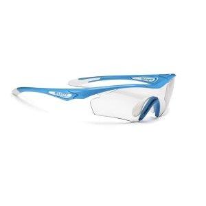 Очки Rudy Project SPACEGIRL SKY BLUE - PHOTOCLEARВелоочки<br>Женская модель очков Rudy Project SPACEGIRLОчки спортивного дизайна для велоспорта, бега, триатлона.В этой версии оправы только верхняя часть линз защищена ободком. Это дает возможность увеличить поле зрения, при этом очки сохраняют прочную структуру. Такой дизайн обеспечивает прекрасный курсовой обзор, очки прекрасно подходят для таких видов, как велогонка, горный велосипед, бег, когда необходимо хорошо видеть поверхность земли, чтобы объезжать препятствия и выбирать лучшую траекторию.ОСОБЕННОСТИ МОДЕЛИ:Оправа из полимера Grilamid Frame это черизвычайно гибкая, ударопрочная, гипоолергенная, легкая оправа.Носоупор с вентилируемыми подушками из материала Megol обеспечивает отличную посадку и абсолютный комфорт;Система сменных линз Quick Change для разных условий освещенности;Система контроля параллельного зрения RP-D-Centered обеспечивает максимальную защиту от ультрафиолета и оптическую резкость;Высококачественные поликарбонатные линзы с защитой от ультрафиолета UV 400 обеспечивают максимальную резкость; Линзы PhotoClearЛинзы самозатемняющиеся в зависимости от степени ультрафиолетового излучения, являются уникальным, передовым решением. Вам больше не нужно несколько очков на разные погодные условия. Можно использовать одни линзы для солнечного дня, леса, вечернего и ночного времени. Линзы подстраиваются под интенсивность света и затемняются сами, вы даже не заметите этого. Только комфорт.                                                 Общие характеристики:    Артикул:SP256673D0000    Брэнды:Rudy Project    Год:2017    Категория:Очки<br>