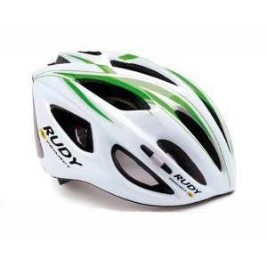 Каска Rudy Project SLINGER WHITE/GREEN L robusta project