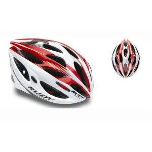 Велошлем Rudy Project ZUMAX WHITE/RED SHINY S/MВелошлемы<br>Шлем ZUMAX обладает малым весом и большим количеством вентиляционных отверстий, что обеспечивает комфортную езду даже в жаркую погоду. Имеет регулировку по объему головы и по уровню ее расположения. Шлем оборудован вращающимся диском для микро-ругулировки его положения на голове одной рукой прямо на ходу.   Благодаря технологии In-Mold, шлем имеет ультрастойкую, но легкую структуру. В случае падения на велосипеде, шлем возьмет на себя всю энергию удара, защитив вашу голову.  Шлем содержит сменные мягкие подкладки из моющегося гипоаллергенного материала Подходит как для опытных райдеров, так и для любителей.  Вес: 0,25 кг.  Количество вентиляционных отверстий: 21. Съемный козырек. Светоотражающие элементы.   Размеры:  S/M - 54-58 см. L - 59-61 см.                                                                                        Общие характеристики:                                            Артикул:HL560021                        Брэнды:Rudy Project                        Год:2017                        Категория:Каски<br>