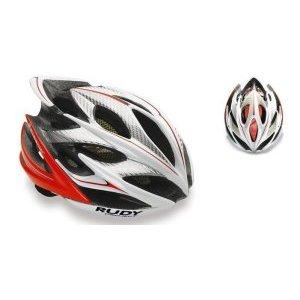Велошлем Rudy Project WINDMAX WH/RED FLUO SHINY S/MВелошлемы<br>ОписаниеКаска Rudy Project WINDMAX WH/RED FLUO SHINY S/MПрименениеШоссе, МТБ.Windmax - одино из лучших творений Rudy Project. Шлем одинаково хорошо подойдёт как профессионалам, так и любителям велоспорта. Он сочетает в себе повышенный уровень защиты с хорошей вентиляцией, комфортной посадкой, малым весом, современным дизайном.Надёжность защиты шлемовRudy Project значительно превышает европейские стандарты безопасности благодаря прочному каркасу, способному эффективно поглощать энергию удара и защищать от острого проникающего воздействия, а такжеза счёт идеальной посадки - результату многочисленных исследований формы головы с целью создания устойчивого и удобного для большинства спортсменов шлема.Windmax весит всего 220 г (в размере S-M) и имеет 21 вентиляционное отверстие, что особенно важно при интенсивной езде в жаркую погоду. Легендарная система фиксации Custom Fit для микро-ругулировки при помощи вращающегося диска позволит точно отрегулироватьусилие фиксации.В комплект входит козырёк для защиты глаз от солнечного света и мелких веток, комплект сменных подушечек.ОсобенностиРазмерS-M - 54-58 см(охват головы), вес около 220 гРазмерL - 59-62 см(охват головы), весоколо 240 гКоличество вентиляционных отверстий:21Внутренняя прокладка, 2 визора в комплектеСтандарты и сертификатыШлемы Rudy Project изготавливаются с использованием самых современных материалов и технологий и сертифицированы во всём мире в соответствии со строгими стандартами безопасности. Заявленные характеристики продуктов могут варьироваться в зависимости от стандартов и требований стран, в которых они продаются.•Европейский союз - соответствие директиве 89/686 ECC о средствах индивидуальной защиты и согласованном техническом стандарте EN 1078.• США / Канада / Другие - одобрены в соответствии с CPSC 12.03 потребительским стандартом безопасности для велосипедных шлемов для людей старше 5 лет.• Австралия / Новая Зеландия / Другие - сертифицир