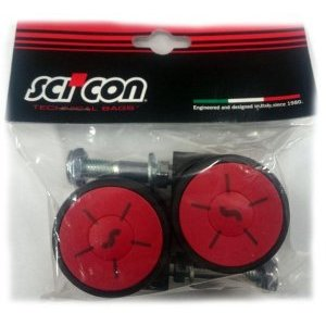 Колеса для велочехла Scicon Aero Сomfort/2 шт. чехол для колес scicon single черный tr043004809