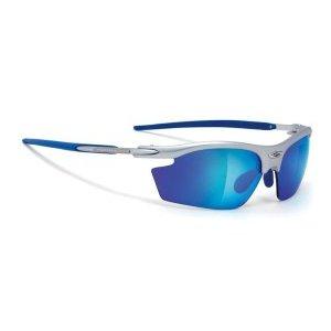 Очки Rudy Project RYDON SILVER MULTILASER BLUE BLUE PADS &amp; TВелоочки<br>Очки Rudy Project RYDON SX самая популярная и востребованная модель для велоспорта, бега, триатлона, и даже просто активного отдыха. Разнообразие цветов оправы позволяет подобрать очки к любой экипировке.В этой версии оправы только верхняя часть линз защищена ободком. Это дает возможность увеличить поле зрения, при этом очки сохраняют прочную структуру. Такой дизайн обеспечивает прекрасный курсовой обзор, очки прекрасно подходят для таких видов, как велогонка, горный велосипед, бег, когда необходимо хорошо видеть поверхность земли, чтобы объезжать препятствия и выбирать лучшую траекторию. Модель SX на узкое лицо.ОСОБЕННОСТИ МОДЕЛИ:Оправа из новых композитных материалов с добавлением карбона для легкости и прочности- дужки из Kynetium TM – специального сплава из алюминия, магнезия, силиция и титана, применяемого в аэрокосмической промышленности, и характеризующегося сверхлегким весом и превосходной упругостью;Полностью регулируемый медно-бериллиевый носоупор с двумя вентилируемыми подушками из Megol, оснащенными новой системойE-Lock TM, и обеспечивающий отличную посадку и абсолютный комфорт;Система сменных линз Quick Change для разных условий освещенности;Система контроля параллельного зрения RP-D-Centered обеспечивает максимальную защиту от ультрафиолета и оптическую резкость;Высококачественные поликарбонатные линзы с защитой от ультрафиолета UV 400 обеспечивают максимальную резкость;Вес 24 гЛинзы Laser и MultilaserЭти линзы разработаны для солнечных дней и яркого света, они обеспечивают защиту от ультрафиолета класса 400 uv, то есть поглощают все виды ультрафиолетового излучения, и доступны в очень широком ассортименте цветов и оттенков. Отражающий хромированный слой полностью покрывает наружную сторону линз, убирая блики, но не ухудшая свойства очков.Normal0falsefalsefalseRUX-NONEX-NONE/* Style Definitions */table.MsoNormalTable{mso-style-name:Обычная таблица;mso-tstyle-rowband-size:0;mso-