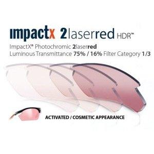 Линзы RP RYDON ImpactX 2 Laser RED очки rudy project rydon carbon impx 2 laser red