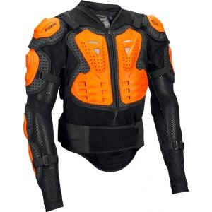 Защита панцирь Fox Titan Sport Jacket, черно-оранжевый 2018