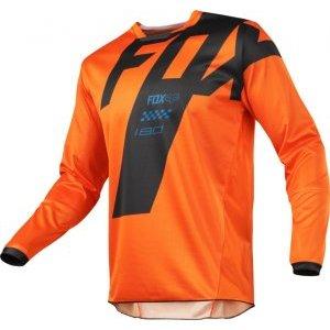 Велоджерси Fox 180 Mastar Jersey, оранжевый 2018