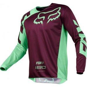 Велоджерси Fox 180 Race Jersey, зеленый 2018