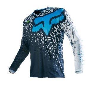 Велоджерси Fox 360 Cauz Jersey, синий 2016Велоджерси<br>Традиционное велокроссовое и мотокроссовое джерси, выполненное из быстросохнущего полиэстера, который хорошо отводит влагу от тела. Воротник и манжеты рукавов идеально облегают шею и запястья, а благодаря удлинённой задней части джерси всегда останется аккуратно заправленным в штаны.<br><br><br><br>ОСОБЕННОСТИ<br><br><br><br>Материал: 100% - полиэстер<br><br>Вставка из сетчатого материала в задней части для дополнительной вентиляции<br><br>Облегающий воротник и манжеты рукавов<br><br>Удлинённая задняя часть<br><br>Оригинальная графика, которая не выцветает со временем<br>