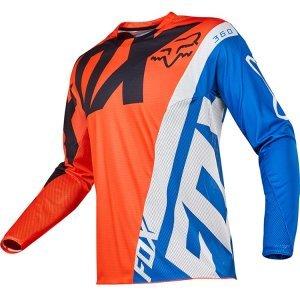 Велоджерси Fox 360 Creo Jersey, оранжевый 2017Велоджерси<br>Новое велокроссовое и мотокроссовое джерси от Fox, выполненное из быстросохнущего полиэстера, который хорошо отводит влагу от тела. Воротник и манжеты рукавов идеально облегают шею и запястья, а благодаря удлинённой задней части джерси всегда останется аккуратно заправленным в штаны.<br><br><br><br>ОСОБЕННОСТИ<br><br><br><br>Материал: 100% - полиэстер<br><br>Вставка из сетчатого материала в задней части для дополнительной вентиляции<br><br>Облегающий воротник и манжеты рукавов<br><br>Удлинённая задняя часть<br><br>Оригинальная графика, которая не выцветает со временем<br>
