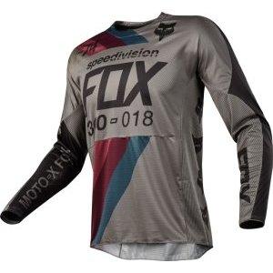 Велоджерси Fox 360 Draftr Jersey, серый 2018
