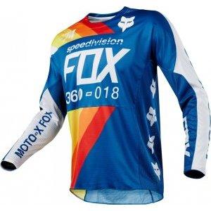Велоджерси Fox 360 Draftr Jersey, синий 2018