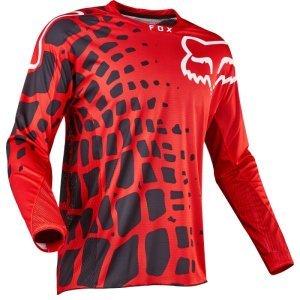 Велоджерси Fox 360 Grav Jersey, красный 2017