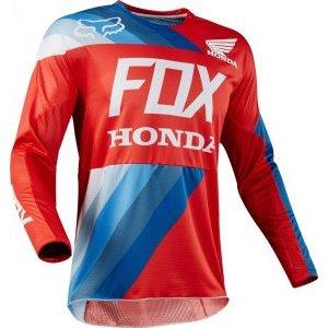 Велоджерси Fox 360 Honda Jersey, красный 2018
