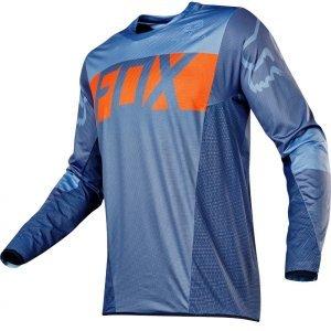 Велоджерси Fox Flexair Libra Jersey, оранжево-синий 2017