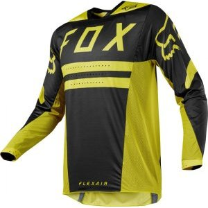 Велоджерси Fox Flexair Preest Jersey, темно-желтый 2018
