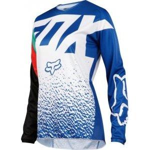Велоджерси женская Fox 180 Womens Jersey, синий 2018