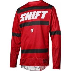 Велоджерси Shift Black Strike Jersey, темно-красный 2018 велофутболка shift black label tee темно красный 2018
