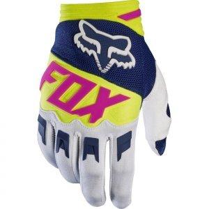 Фото - Велоперчатки Fox Dirtpaw Race Glove, сине-белый 2017 хромированные накладки на противотуманные фары и катафоты chn для skoda kodiaq 2017 по н в
