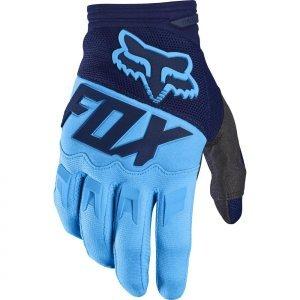 Фото - Велоперчатки Fox Dirtpaw Race Glove, синий 2017 хромированные накладки на противотуманные фары и катафоты chn для skoda kodiaq 2017 по н в