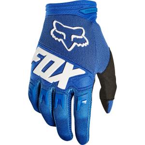 Фото - Велоперчатки Fox Dirtpaw Race Glove, синий 2018 хромированные накладки на противотуманные фары и катафоты chn для skoda kodiaq 2017 по н в