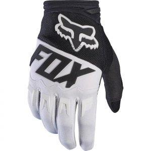 Фото - Велоперчатки Fox Dirtpaw Race Glove, черно-белый 2017 хромированные накладки на противотуманные фары и катафоты chn для skoda kodiaq 2017 по н в