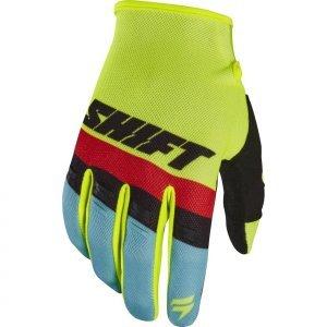 Велоперчатки Shift White Air Glove Flow, желтый 2017 shift