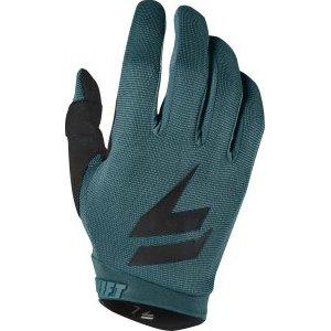 Велоперчатки Shift White Air Glove, синий 2018Велоперчатки<br>Классические вело и мотокроссовые перчатки от Shift. Верх модели выполнен из эластичного дышащего текстиля, а ладонь отделана тонкой искусственной кожей Clarino. Силиконовые накладки на кончиках пальцев обеспечивают лучший контроль ручек тормоза и сцепления.<br><br><br><br>ОСОБЕННОСТИ<br><br><br><br>Материал: текстиль/искусственная кожа<br><br>Силиконовые накладки на кончиках пальцев для лучшего сцепления<br><br>Оригинальная графика<br>