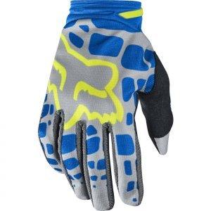 Велоперчатки женские Fox Dirtpaw Womens Glove, серо-синий 2017Велоперчатки<br>Удобные высококачественные перчатки от Fox, созданные специально для девушек. Особенности обновлённой модели Dirtpaw Mako - защитные накладки в нижней части ладони и на костяшках, а также оригинальная графика.<br><br><br><br><br>ОСОБЕННОСТИ<br><br><br><br>Материал: текстиль, искусственная кожа<br><br>Ладонь выполнена из тонкой искусственной кожи Clarino<br><br>Силиконовые накладки для лучшего сцепления с рулём<br><br>Защитные накладки на костяшках и в нижней части ладони<br><br>Вставки из сетчатого материала между пальцами для лучшей вентиляции<br><br>Застёжка на крючке<br>