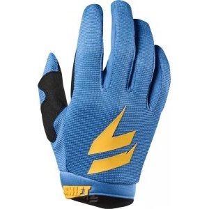 Велоперчатки подростковые Shift White Air Youth Glove, оранжево-синий 2018Велоперчатки<br>Классические вело и мотокроссовые перчатки от Shift, созданные специально для юных гонщиков. Верх модели выполнен из эластичного дышащего текстиля, а ладонь отделана тонкой искусственной кожей Clarino. Силиконовые накладки на кончиках пальцев обеспечивают лучший контроль ручек тормоза и сцепления.<br><br><br><br>ОСОБЕННОСТИ<br><br><br><br>Материал: текстиль/искусственная кожа<br><br>Силиконовые накладки на кончиках пальцев для лучшего сцепления<br><br>Оригинальная графика<br>