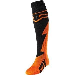 Носки Fox FRI Mastar Thick Sock, оранжевый 2018Велоноски<br>Мягкие утолщённые носки под вело и мотоботы от Fox. Модель выполнена из прочного и долговечного синтетического материала, который быстро сохнет и хорошо отводит влагу. Анатомический крой и дополнительные утолщения в критических местах обеспечивают максимальный комфорт.<br><br><br><br>ОСОБЕННОСТИ<br><br><br><br>Материал: полиэстер<br><br>Анатомический крой<br><br>Дополнительные утолщения в критических местах<br>