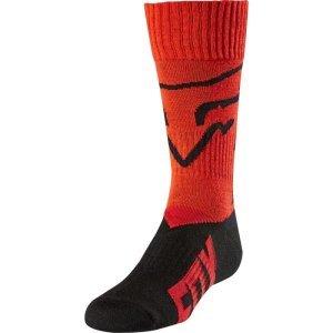 Носки подростковые Fox MX Mastar Youth Sock, красный 2018Велоноски<br>Мягкие и комфортные носки под вело и мотоботы, созданные специально для юных гонщиков. Модель выполнена из фирменного материала Coolmax, который быстро сохнет, хорошо отводит влагу и не натирает кожу. А анатомический крой и дополнительные утолщения в критических местах обеспечивают максимальный комфорт.<br><br><br><br>ОСОБЕННОСТИ<br><br><br><br>Материал: Coolmax<br><br>Анатомический крой<br><br>Дополнительные утолщения в критических местах<br>