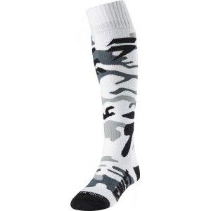 Носки Shift White Label Sock White Camo 2018Велоноски<br>Высокие трикотажные носки от Shift. Модель выполнена из плотной синтетической ткани и декорирована оригинальным рисунком.<br><br><br><br>ОСОБЕННОСТИ<br><br><br><br>Плотная синтетическая ткань<br><br>Оригинальная графика<br>