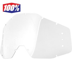 Линза 100% Speedlab Replacement Lens w/holes, 51021-010-02 набор для перемотки подростковый 100% speedlab vision system accuri jr strata jr 51020 010 03